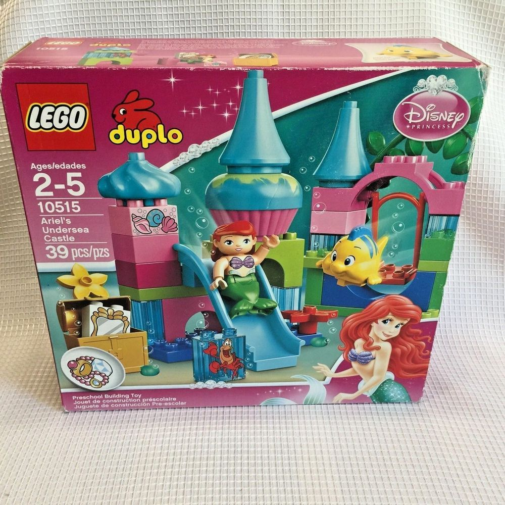 Lego Duplo 10515 Ariel Undersea Castle Disney Princess Factory