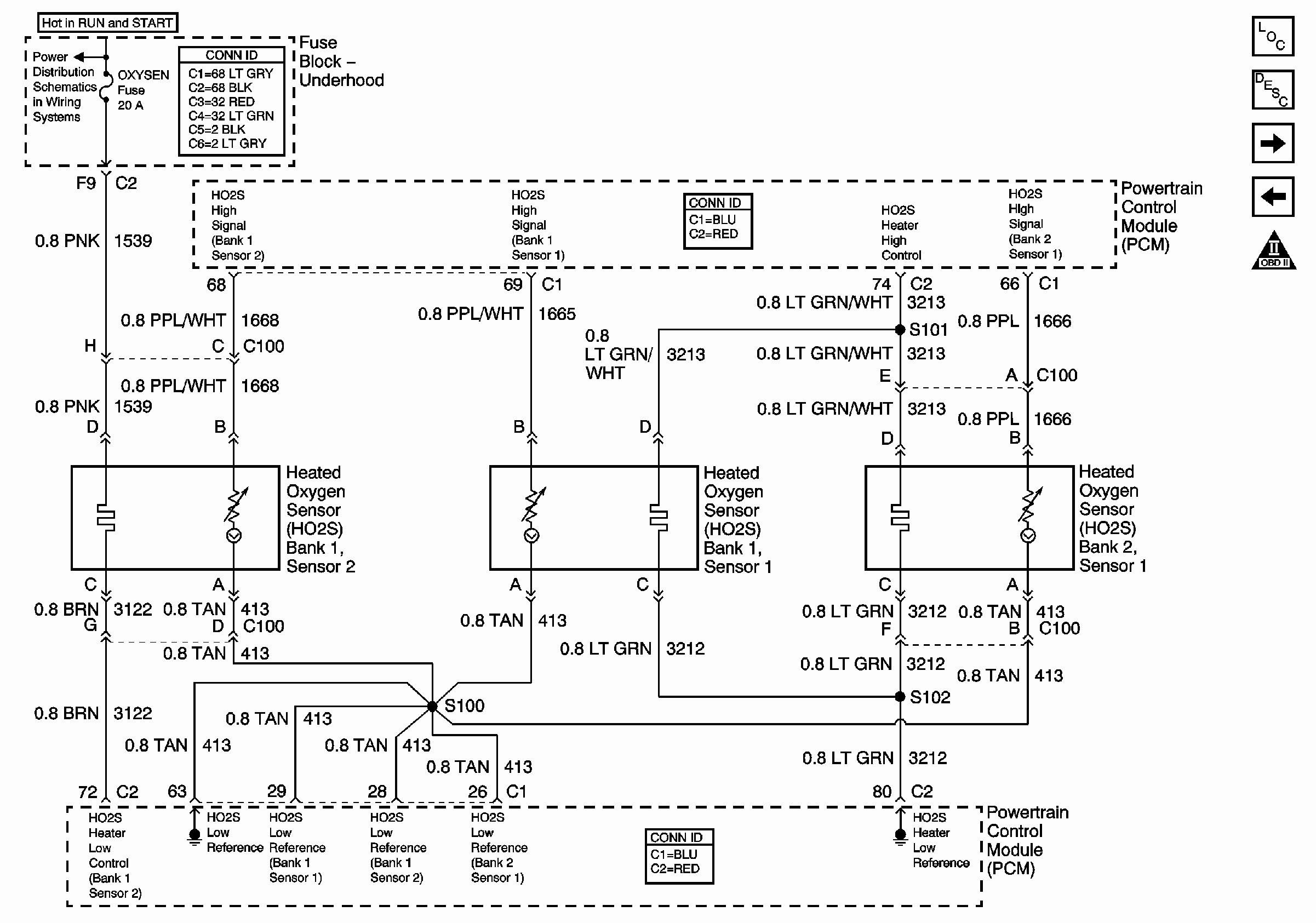 06 Chevy Equinox Fuse Box Diagram