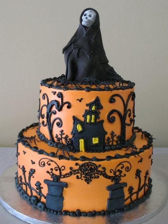 halloween creative cake decorating ideas
