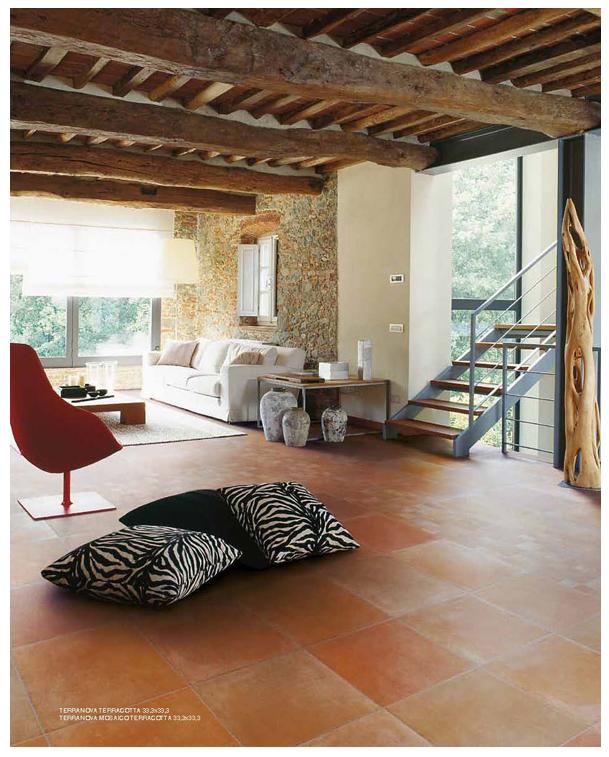 unsere terranova fliesen in 33x33 cm farbe terracotta http naturstein. Black Bedroom Furniture Sets. Home Design Ideas