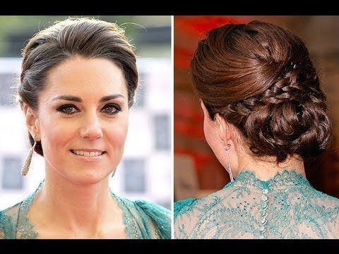 Kate Middleton Braided Updo Wedding Hairstyle Pictures Are Available You Can Get Hairs Color Hairstyles