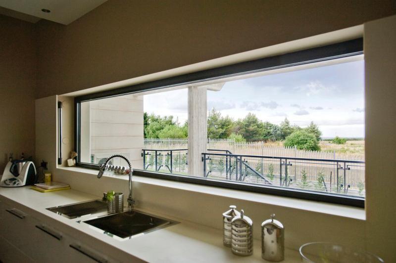 Finestra a fascia per cucina   finestre   Pinterest   Apertura ...