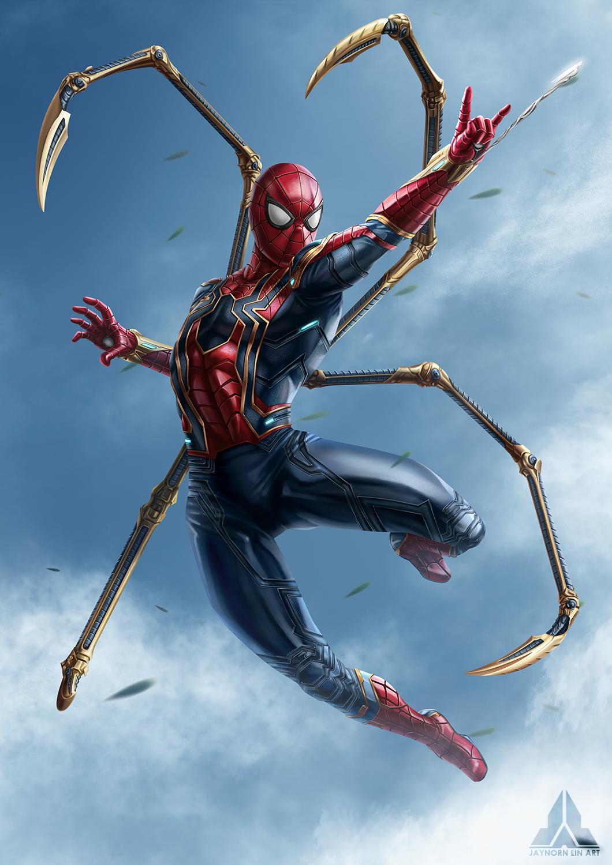 Avengers Infinity War Spiderman Marvel Fanart