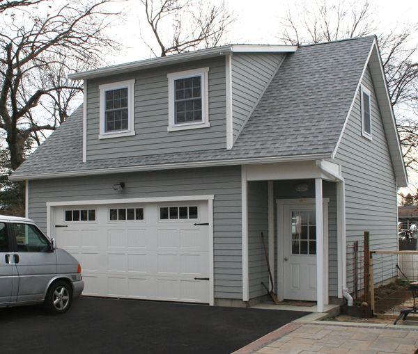 24' X 24' Elite Cape Garage: Smartside Siding, Window