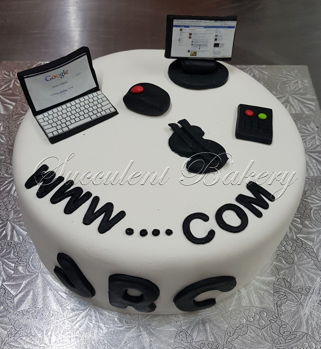 Brilliant Computer Cake Baking Cake Food Sweet Delicious Bakery Baker Funny Birthday Cards Online Barepcheapnameinfo