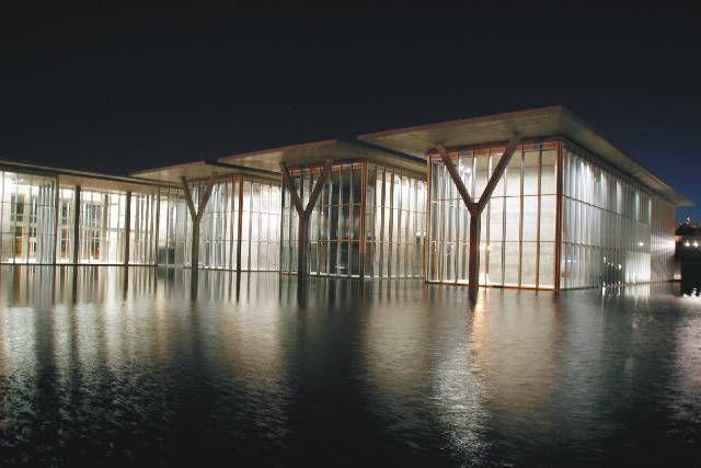 Modern Art Museum of Fort worth. 1997-2003. Texas, EUA. Tadao Ando.