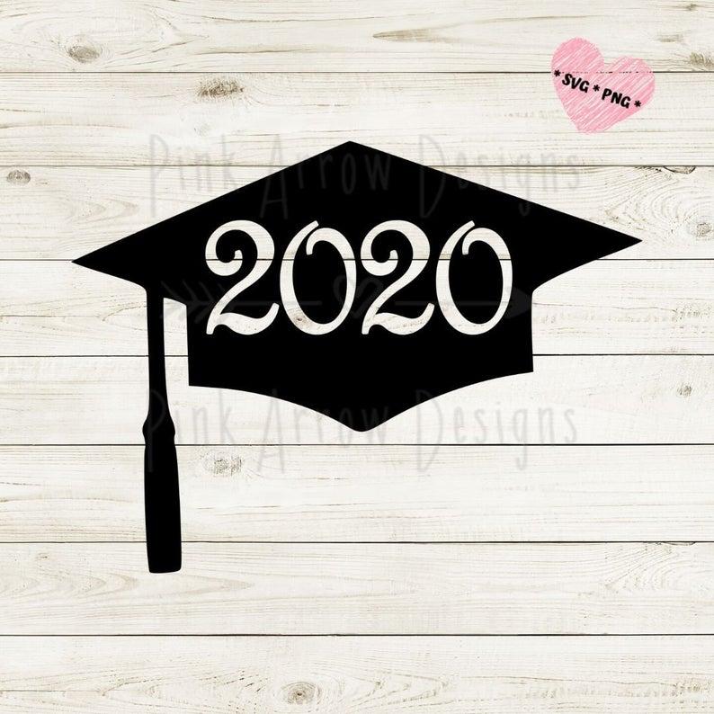 Graduation Cap Svg Grad Cap Svg 2020 Graduation Svg 2020 Etsy Diy Graduation Cap Graduation Diy Graduation Decorations