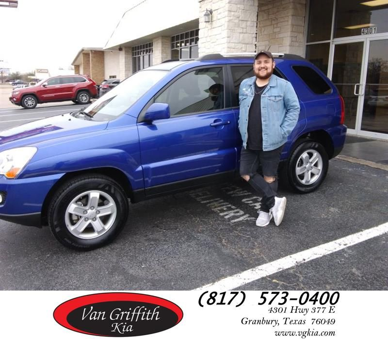 Happy Anniversary to Linda on your Kia Sportage from Jay