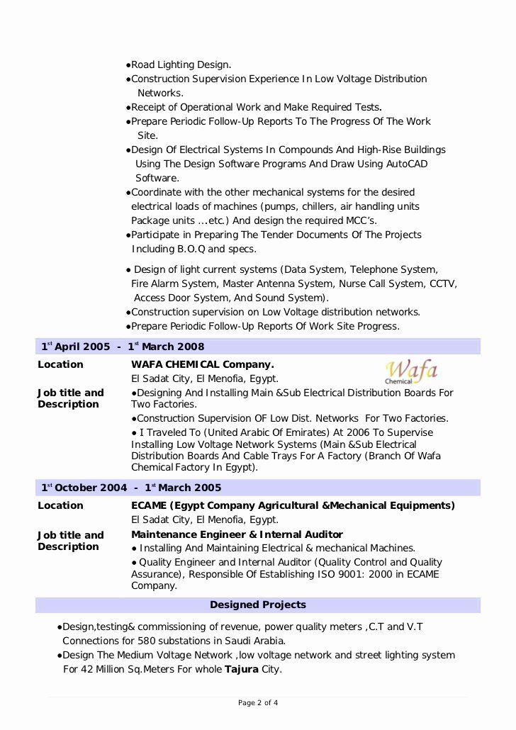 23 Cable Technician Job Description Resume in 2020