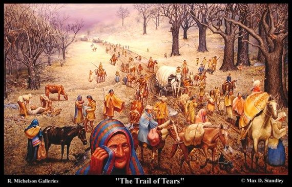 Cherokee Indian Removal Act of 1838 | Indian tribes and Andrew jackson