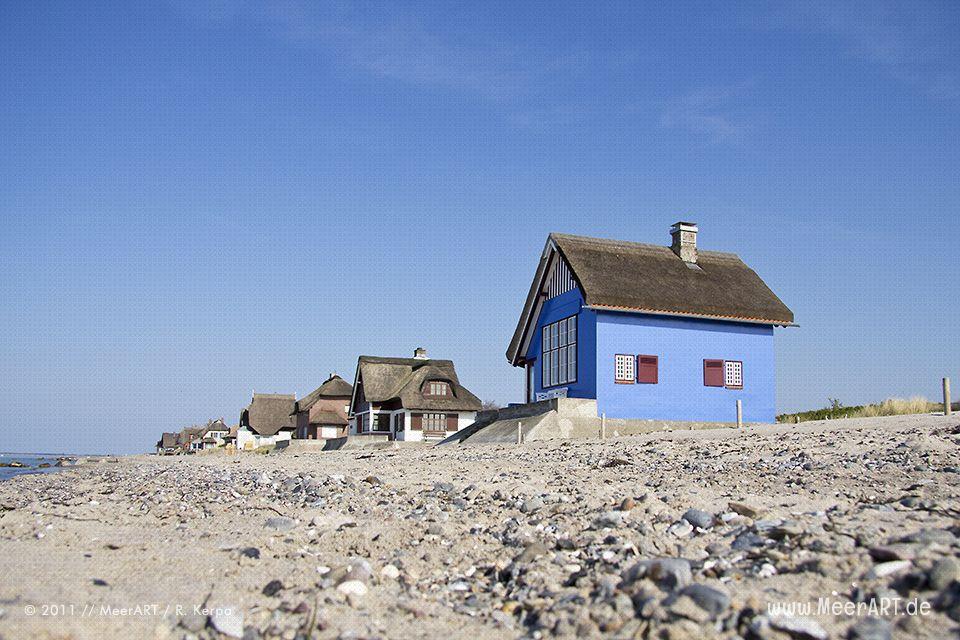 ferienh user an der ostsee am strand von heiligenhafen. Black Bedroom Furniture Sets. Home Design Ideas