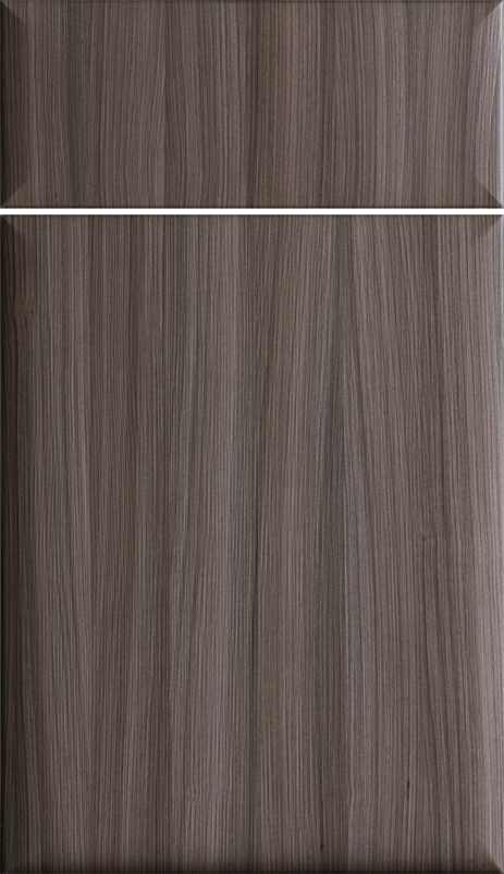 Dura Supreme Cabinetry Icon Vertical Cabinet Door Style Shown In Textured Foil With Twig