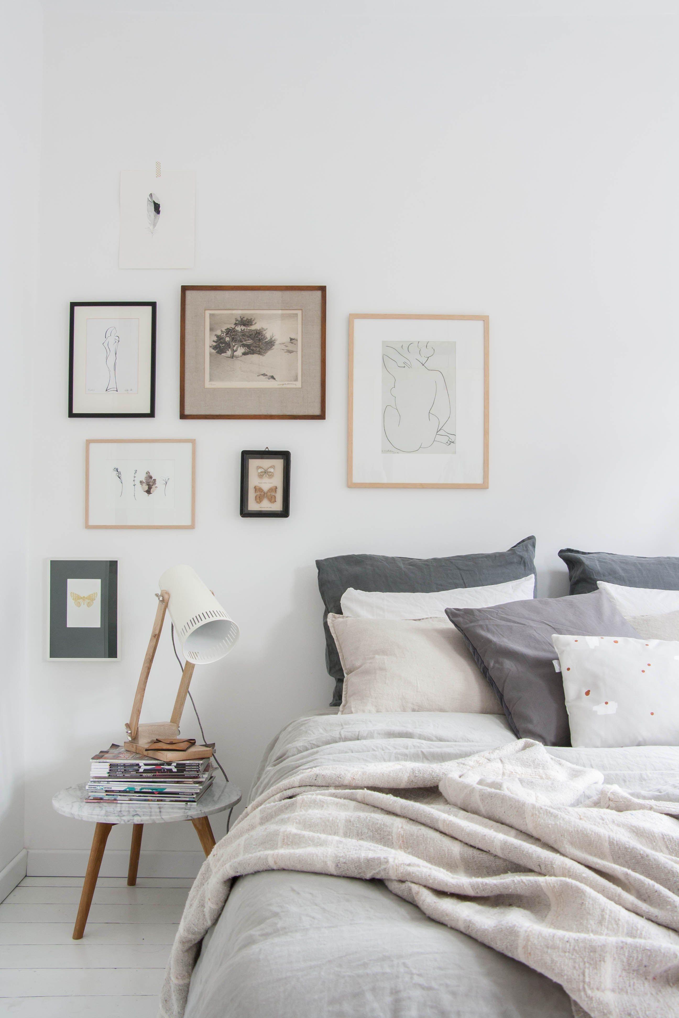 As se convierte un dormitorio terrible en uno de for Laminas decoracion estilo nordico