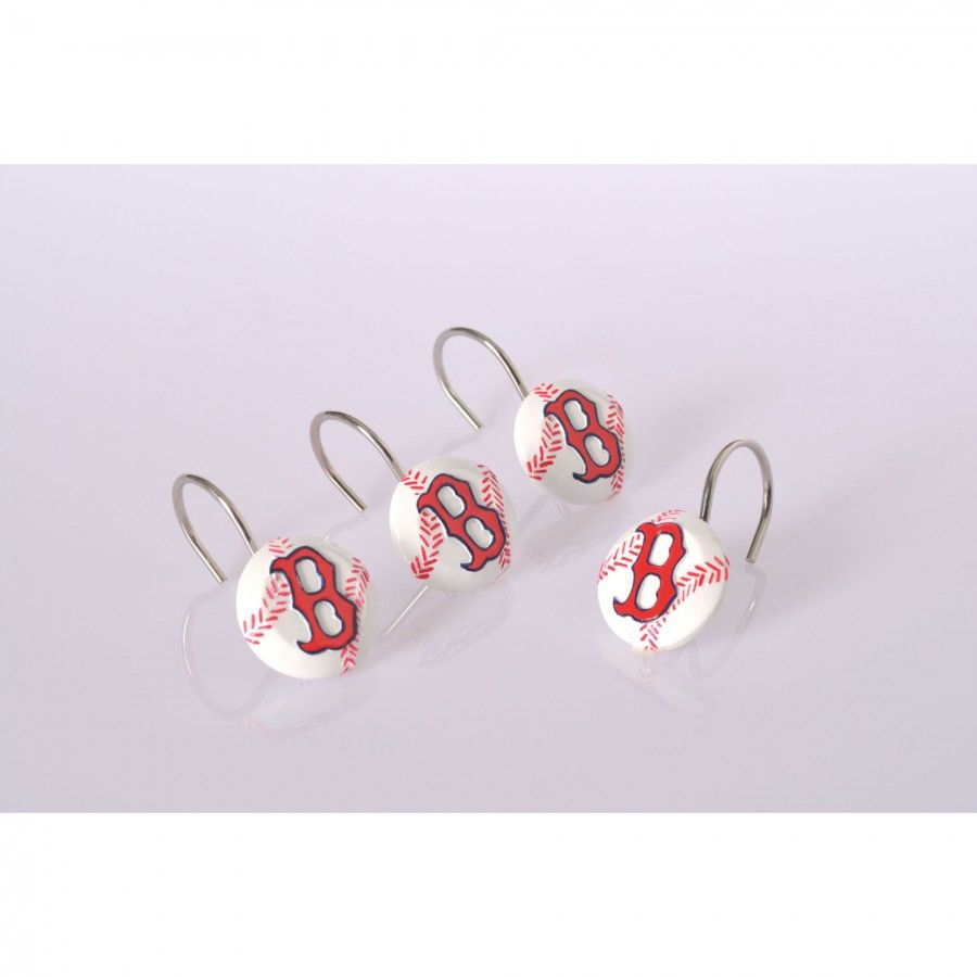Championship Home Accessories Boston Red Sox 12 Piece Hook Set