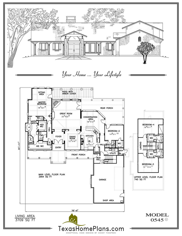 Texas Home Plans Texas Mission Homes Page 28 29 In 2020 Texas Homes House Plans How To Plan