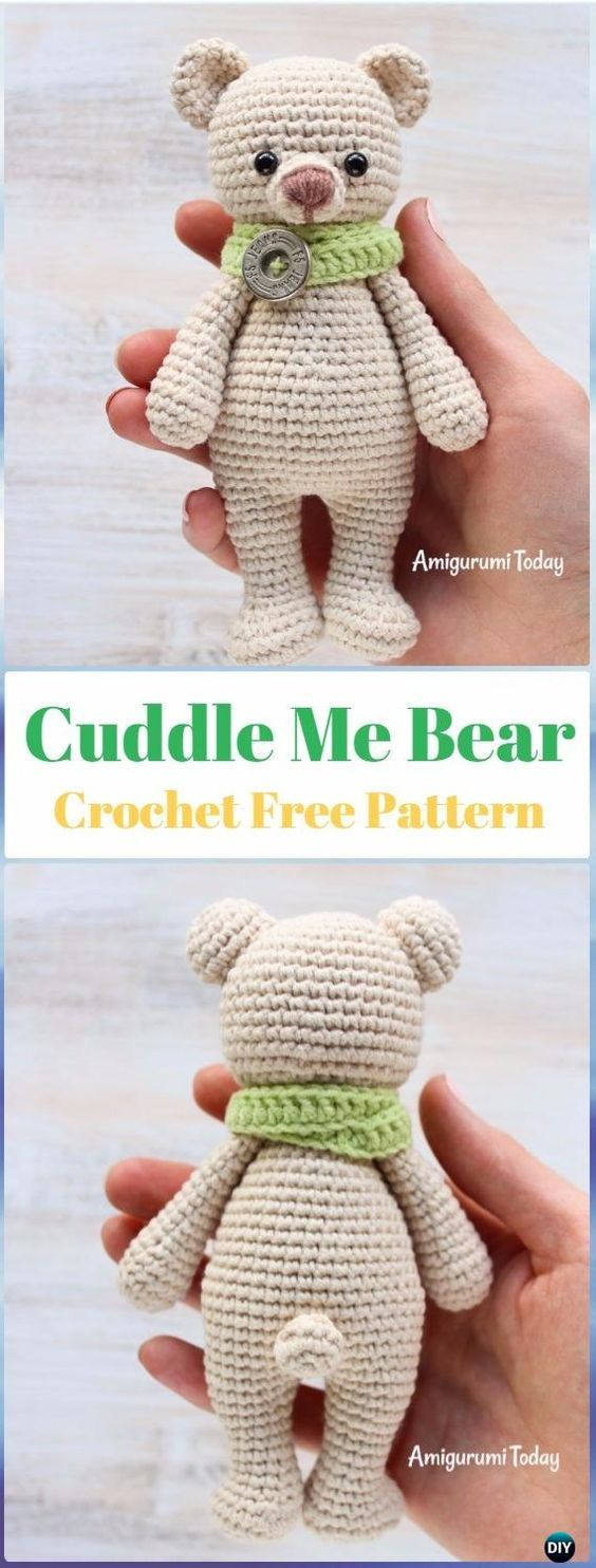 Amigurumi Crochet Teddy Bear Toys Free Patterns | Patrones amigurumi ...