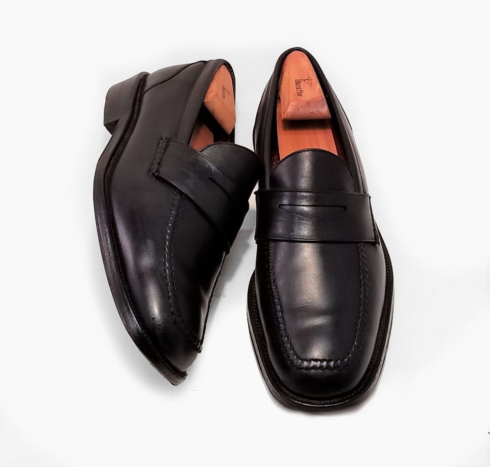 EXCELLENT!!!! Mens Cole Haan City Brown Leather Loafers Dress Shoes Size 10.5