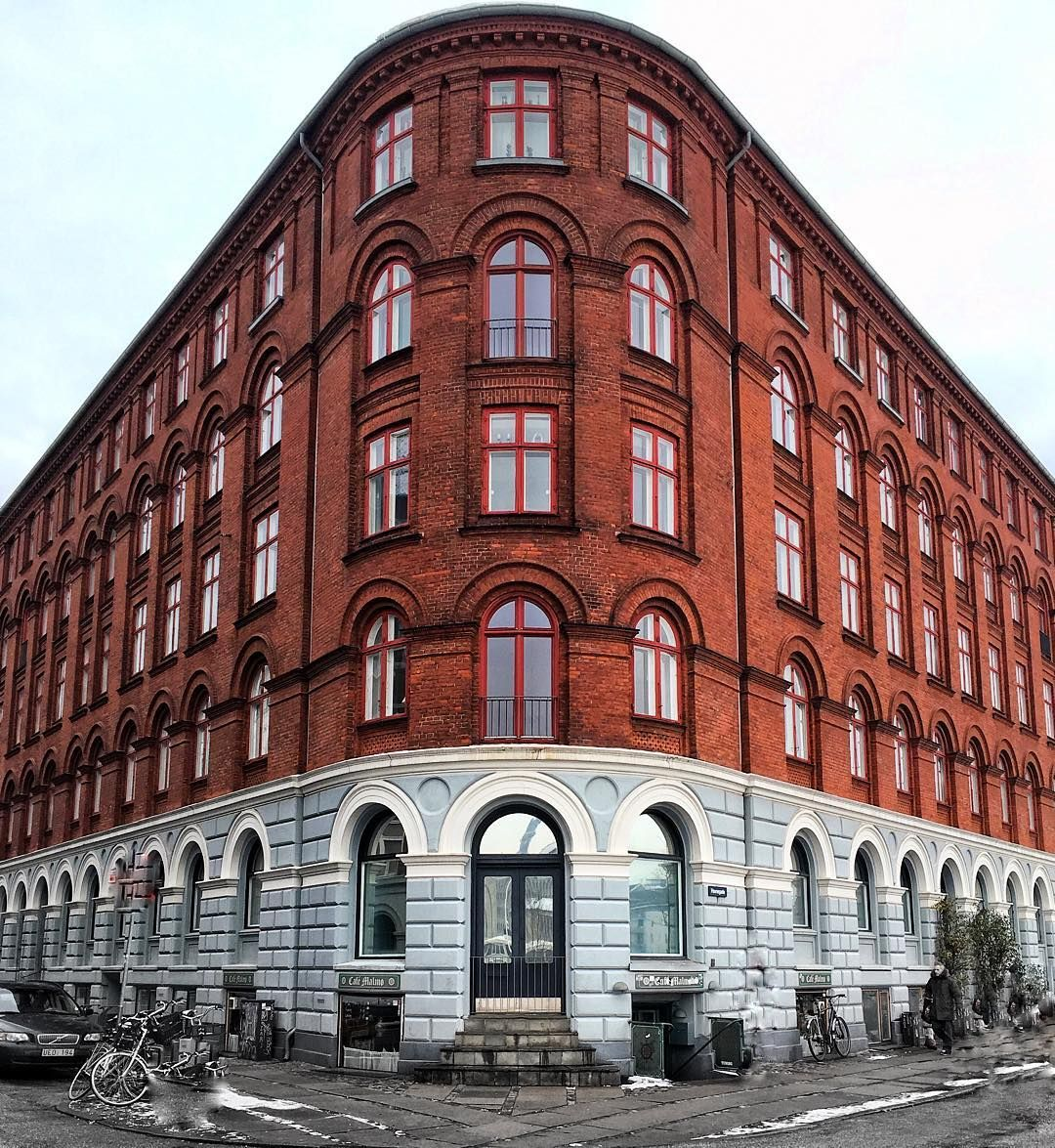Covey Apartments: An Apartment Building Near Nyhavn In Copenhagen Denmark