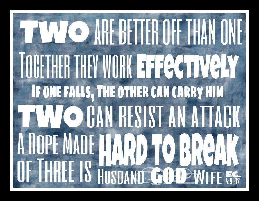 Ecclesiastes 4 9 12
