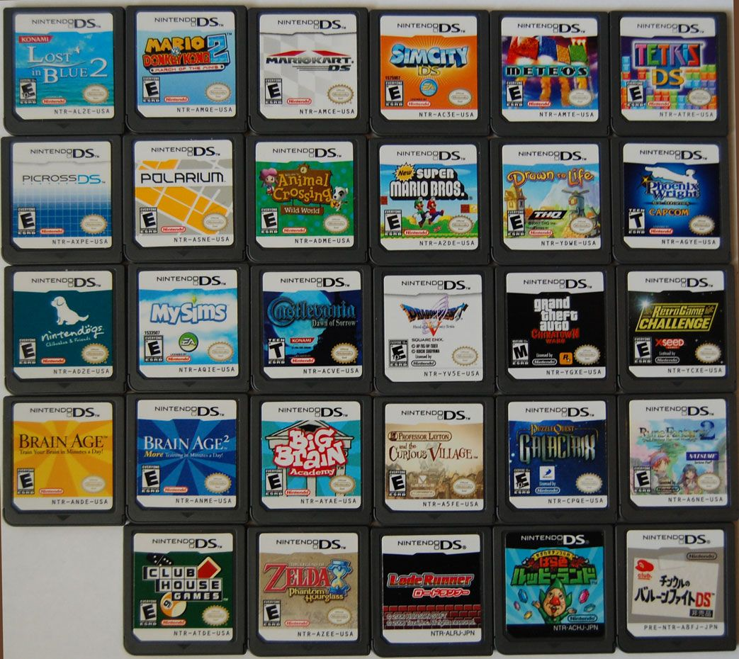 NINTENDO 3DS GAME COLLECTION (2016) | cinnamoniboni