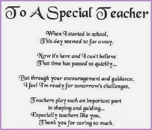 description of a good teacher