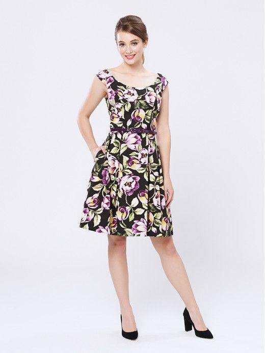 Victoria Plum Dress