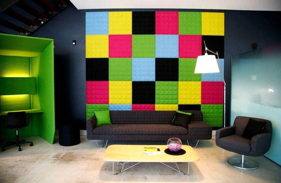 Paneles acústicos y decorativos PAREDES Pinterest Paneles