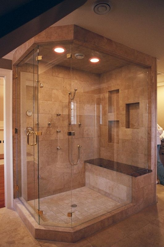 How large of a shower do you desire? http://www.1to1cabinets.com ...