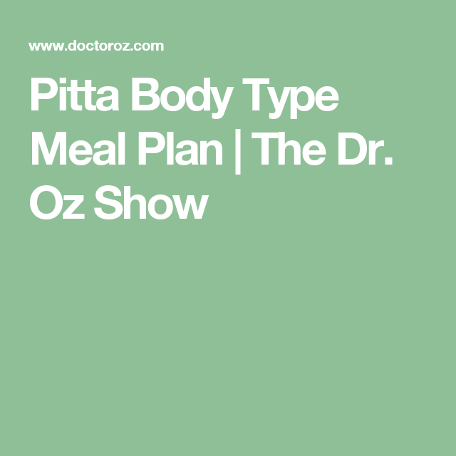 Diet Plan For A Busy Man