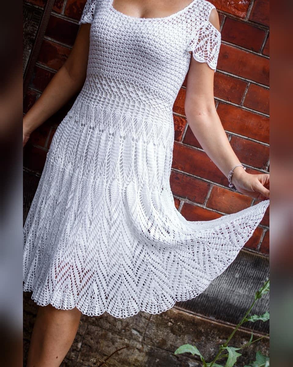 Vestido De Croche Vestido De Croche Vestido De Croche Adulto Vestidos