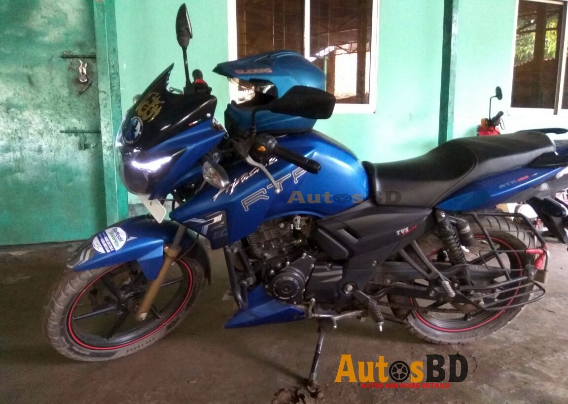 Tvs Apache Rtr 150 Matte Blue Edition Motorcycle User Review Rtr