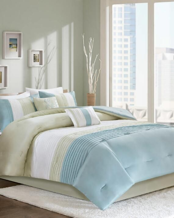 6 Piece Annika Comforter Set Comforter Sets Home Decor Colors Comforters