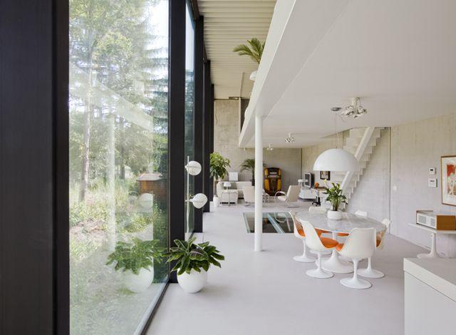 De bouwheer wilde een minimalistische en tijdloze woning van