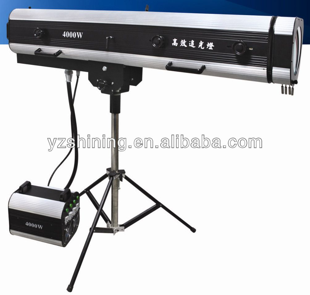 professional stage mini follow spot light for show
