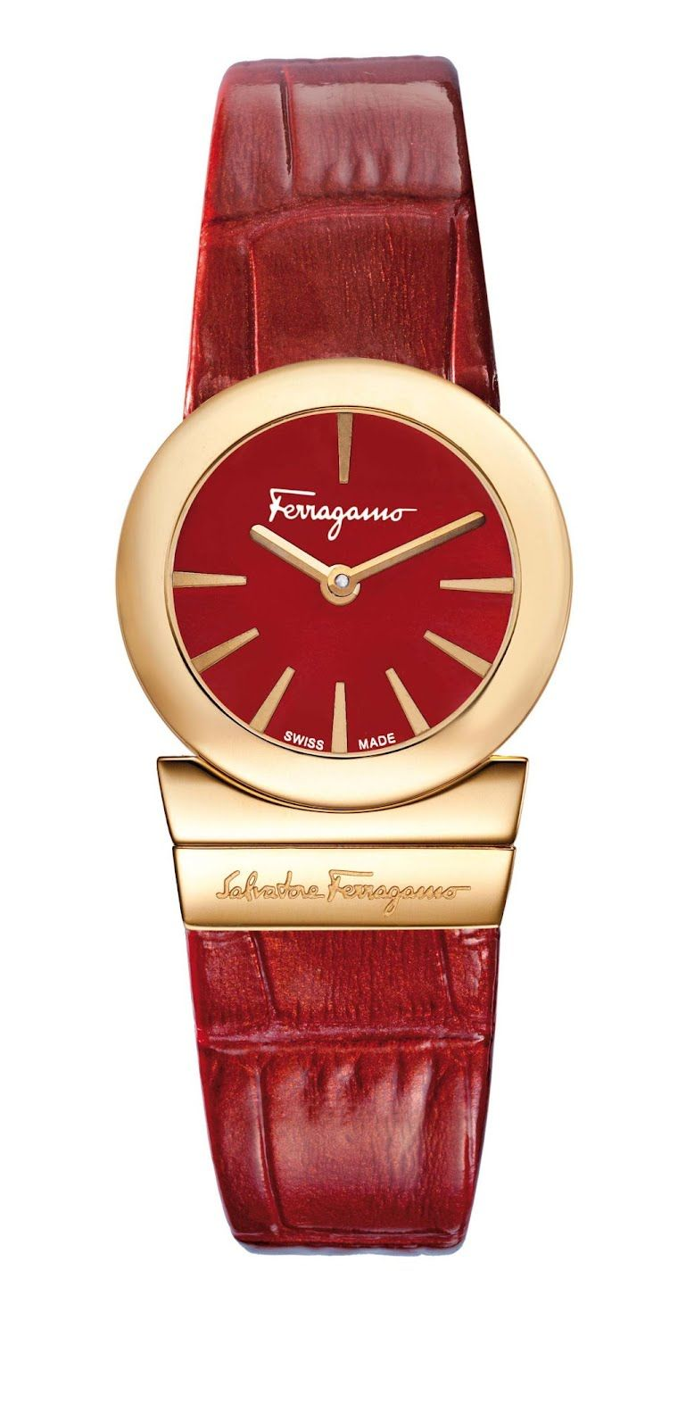 Salvatore Ferragamo Timepieces: GANCINO SOIRÉE