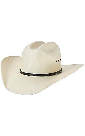 12ef02e2681 Stetson 10X Llano Straw Cowboy Hat