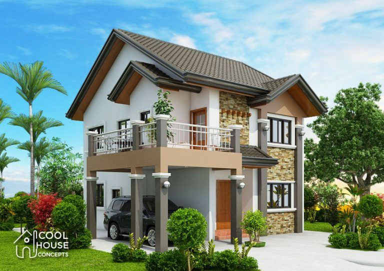 Four Bedroom Two Storey House Design Cool House Concepts Bungalow Style House Plans House Layout Plans Two Storey House Plans