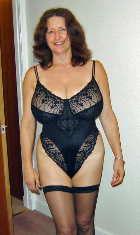 Top heavy mature women