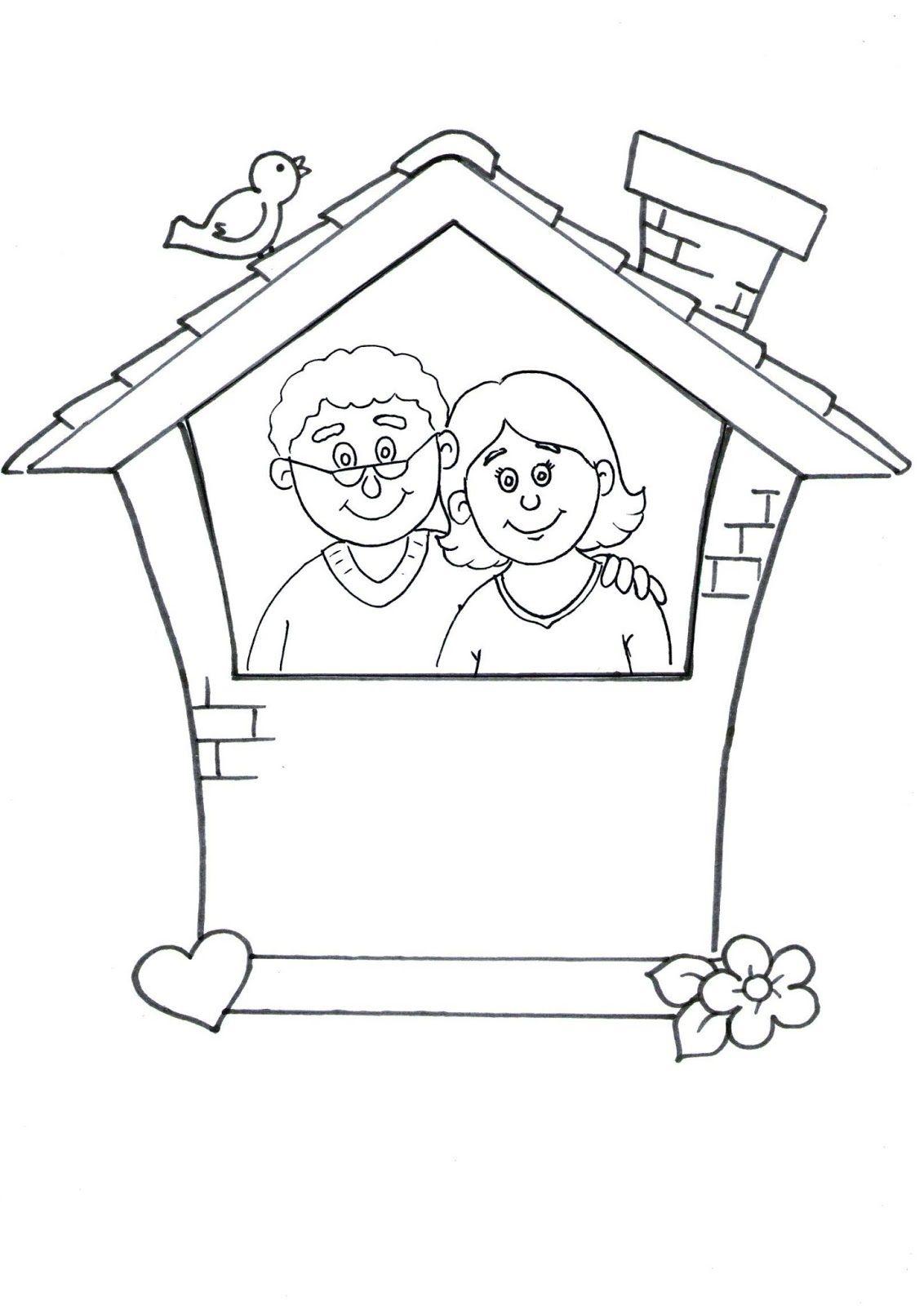 Anne Baba Sevgisi Cerceve Etkinligi Babalar Cerceve Okul