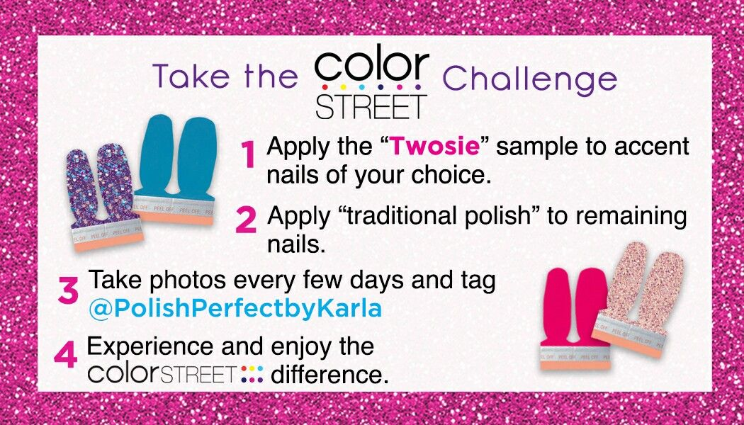 Twosie Accent Nail Sample Request Form Color street