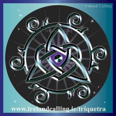 The Power Of Three The Triquetra Is An Ancient Irish Symbol Find