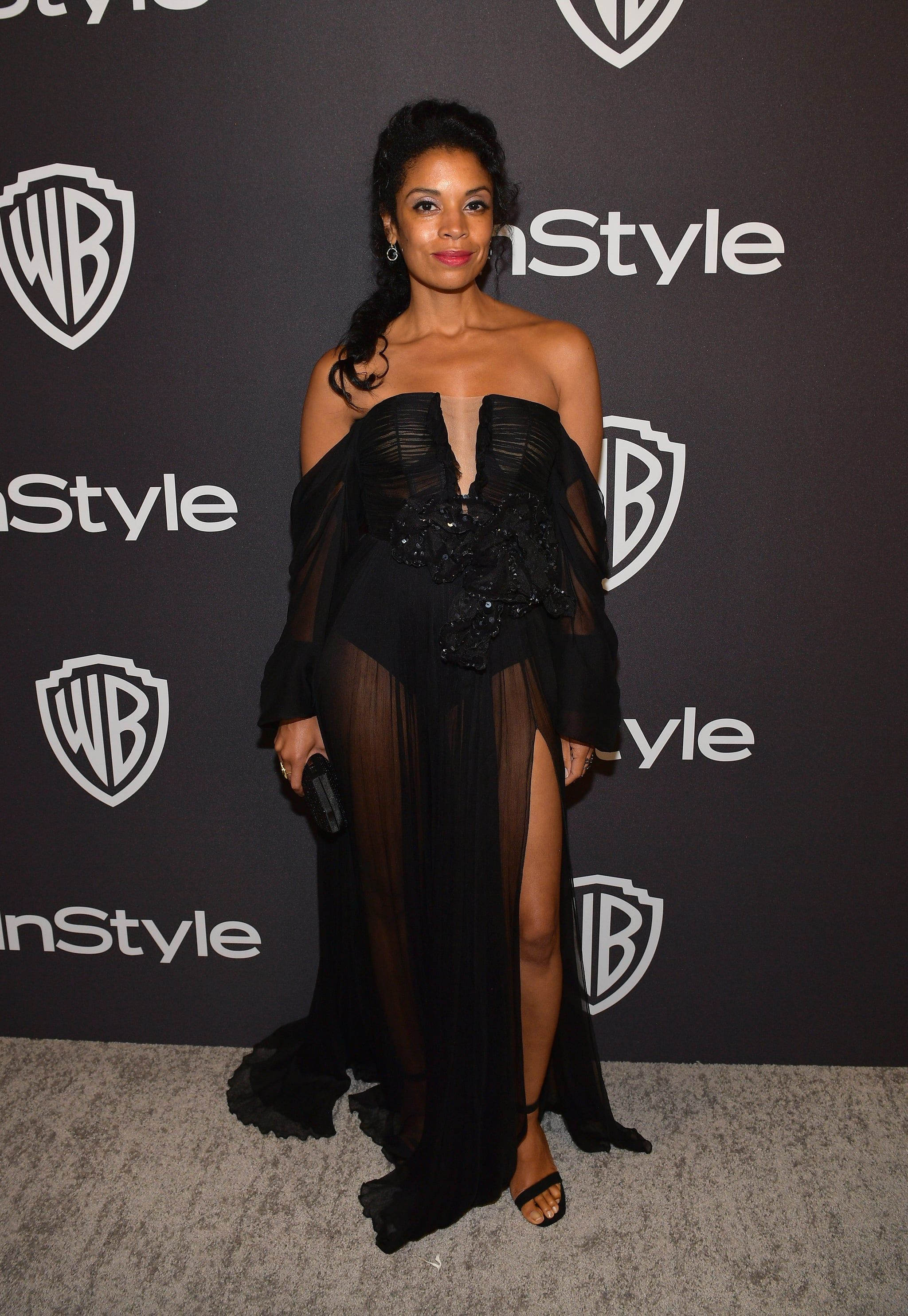 Susan Kelechi Watson At The 2019 Golden Globes Afterparty Stunning Dresses Dresses Fashion