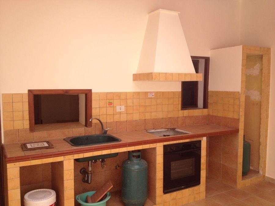 Piccola Cucina In Muratura Per Taverna Le Cucine Dell - Piccola ...
