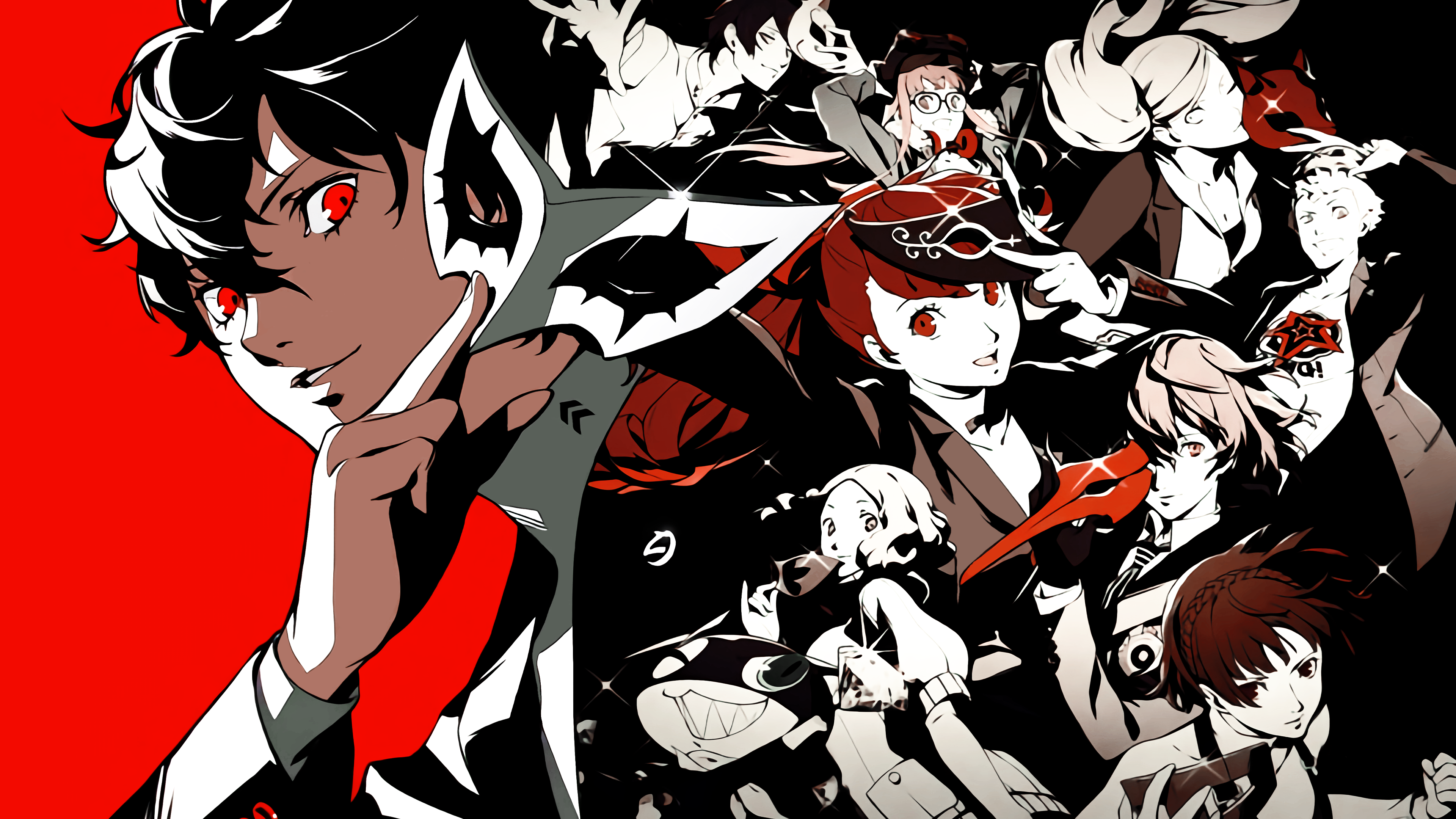 New Persona 5 Royal 4k Artwork Wallpaper P5r Persona5 In 2020 Persona 5 Persona Persona 5 Joker