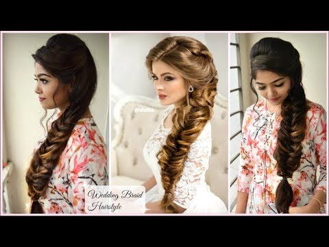 Gorgeous Wedding Volumized Braid Hairstyle Elegant Prom Hairstyle Messy Romantic Braid Youtube Elegant Hairstyles Braided Hairstyles Hair Styles