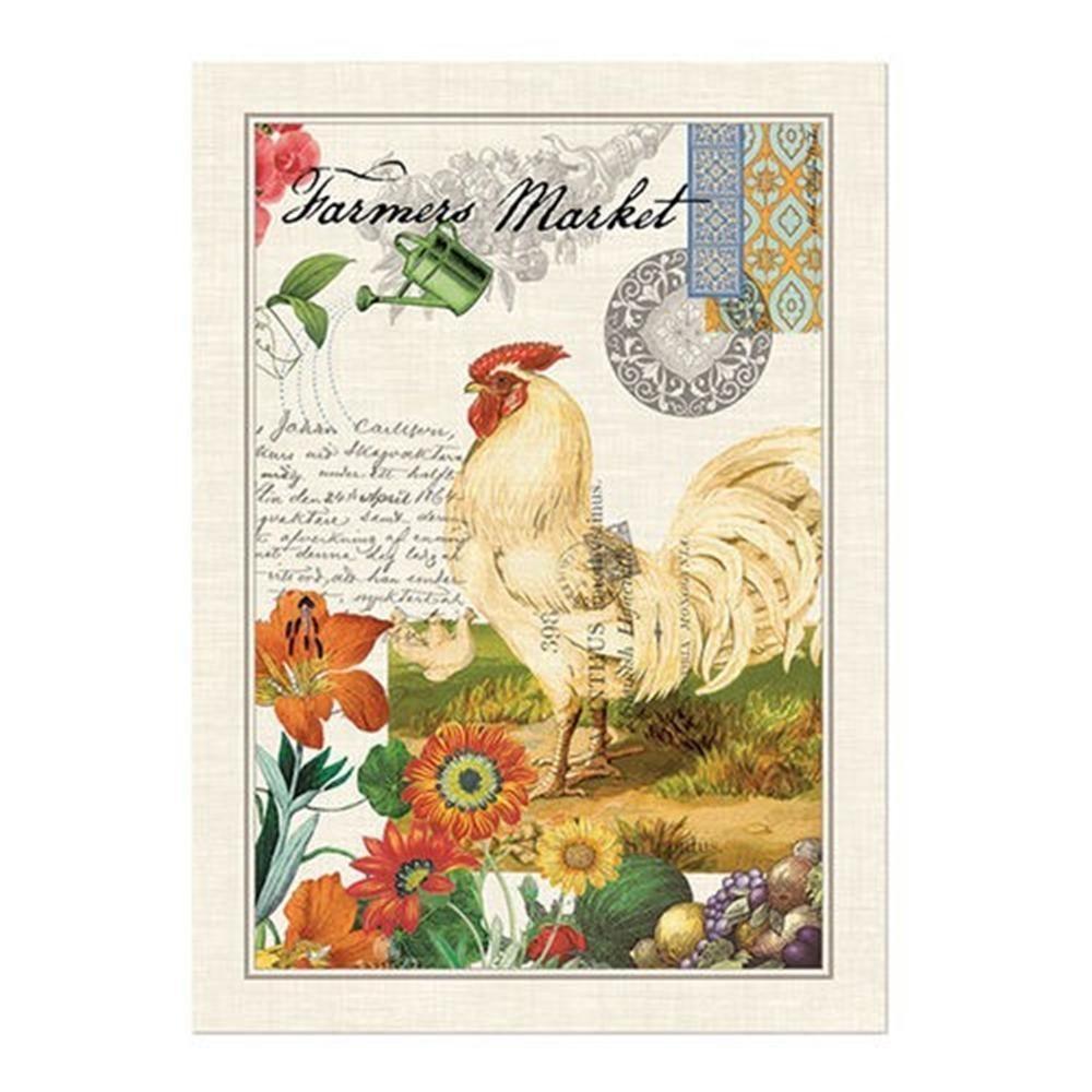 Michel Design Works Farmers Market Cotton Kitchen Towel | The ...