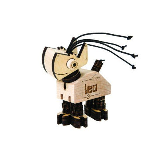 Leo Wooden Robot Kit Robot Kits Robot Birch Ply
