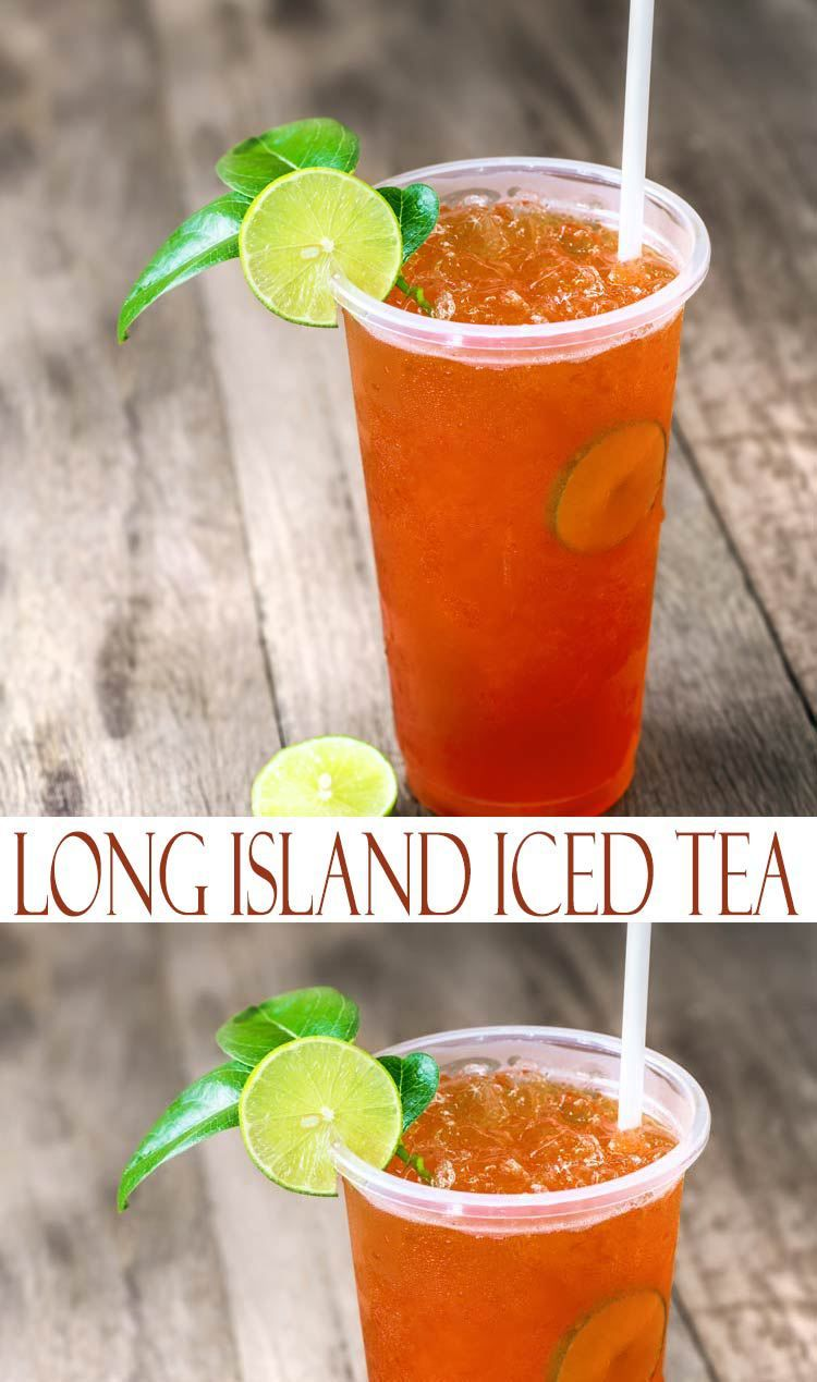 This classic cocktail, Long Island Iced Tea, is a potent ...