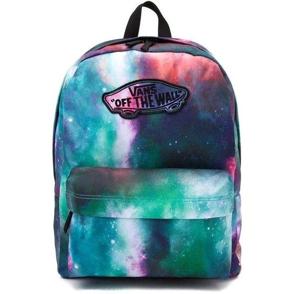Vans Realm Galaxy Nebula Backpack ❤ liked on Polyvore featuring bags 2cbb4a481676a