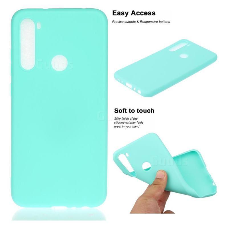 Candy Soft Tpu Back Cover For Mi Xiaomi Redmi Note 8 Green Xiaomi Redmi Note 8 Cases Guuds Xiaomi Soft Case